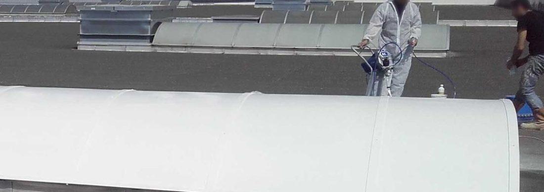 Laque solaire pour toiture verre