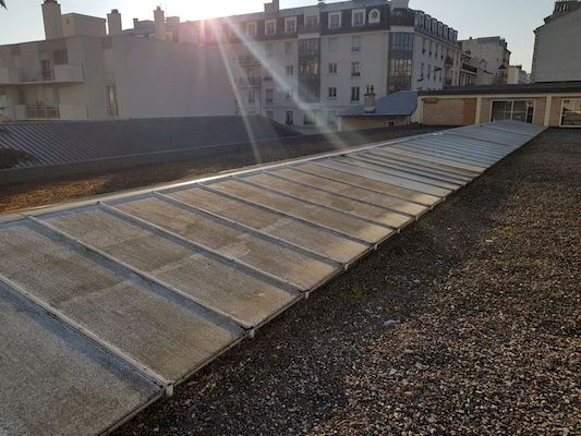 nettoyage avant application laque solaire