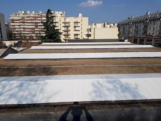application laque solaire equipe dexypro