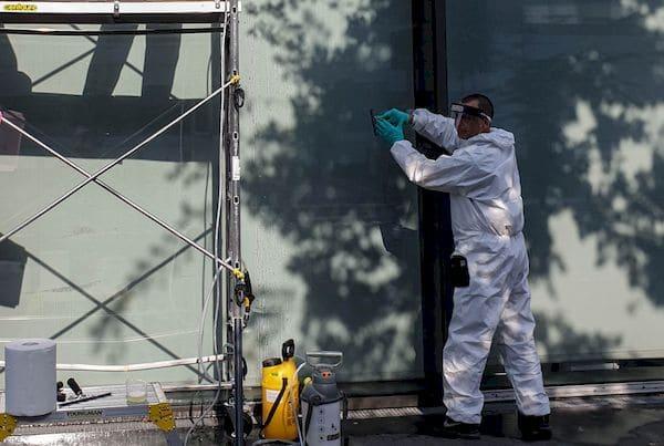 600m² de film sécurité Protecver 220 pour les locaux du groupe Altice
